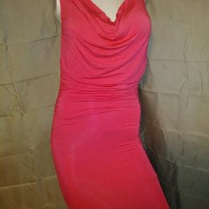 Dresses & Skirts - Coral bodycon